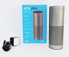 Amazon Echo 1st Generation Silver(ZE39KL)Digital Media Streamer Speaker- Alexa