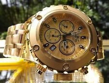 NEW Invicta 23920 Men 52mm Specialty Subaqua Swiss 18K Gold Plate SS Watch