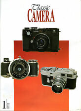 CLASSIC CAMERA MAGAZINE, #1, FEBUARY 1997, RUSSIAN LEICA & CONTAX / NEW  Offer?