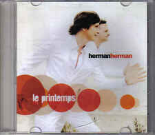 Promo  cd singel Herman herman- Le Printemps
