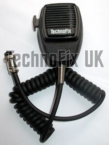 Replacement 8 pin microphone for Yaesu transceivers with round mike connector