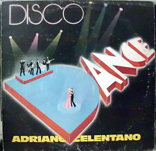 CELENTANO ADRIANO DISCO DANCE LP 1977 ITALY CLAN