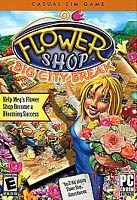Flower Shop: Big City Break ~ PC CD Rom Game ~ Casual Sim Game Windows Computer