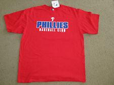 PHILADELPHIA PHILLIES majestic RED T SHIRT XL NWT