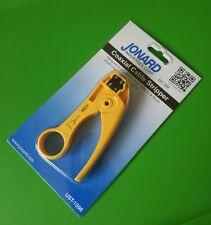 JONARD UST-1596 Coax Cable Stripper for RG59/RG6/RG6 Tri & Quad Shield Cables