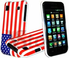 Cover Custodia Per Samsung Galaxy S i9001 Plus Bandiera USA America