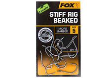 Fox NEW Edges Armapoint Arma Point Hooks Stiff Rig Chod Beaked *All Sizes*