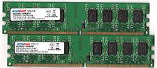 Lot de 2 barrettes 2GB DDR2 667 DANE ELEC soit 4GB PC2-5300