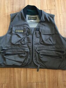 G - Loomis Vintage Fly Fishermen's Vest Sz XL Maybe NOS