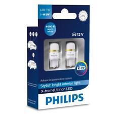 Philips Xtreme Vision 360 LED W5W T10 4000K (Twin) 127994000KX2 Bulb Globe