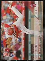 2018 Topps NOW Shohei Ohtani #234 RC Los Angeles Angels 1st to 50K's in 4th Win