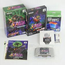 1.0 Ver ZELDA The Legend of Majora's Mask Memory Nintendo 64 801 n6