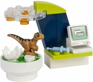 LEGO Jurassic World: Create a Dinosaur Laboratory Foilbag 122008