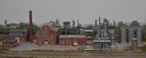 Chemical Factory - COMPLETELY CUSTOM KITBASHED - PROFESSIONALLY BUILT