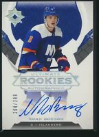 2019-20 Upper Deck Ultimate Collection Rookies Autographed Auto /299 Noah Dobson
