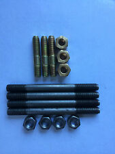 Land Rover Series 2, 2a & 3 Exhaust Manifold Studs & Nuts, 2.25 2 1/4 Petrol  K4