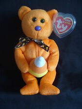 NWT TY BEANIE BABY TREATOR WITH CANDY CORN BEAR