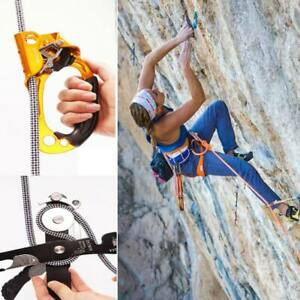 High-quality Hand Grasp Rock Climbing Ascender Riser Device for 8-12mm Rope Lot