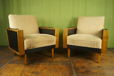 60er Vintage Easy Chair Sessel Retro Danish Clubsessel Holz Mid-Century 1/2