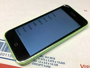 Apple iPhone 5c - 8GB - Green (Unlocked) A1456 (CDMA + GSM) Works - New
