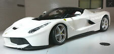 G LGB 1:24 Scale White La Ferrari Detailed Bburago Superb Diecast Model Car