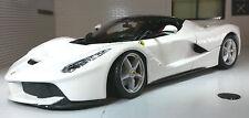 G LGB 1:24 Scale White La Ferrari Detailed Bburago Superb Diecast Model Car