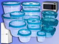 Gefrier Kühlschrank Mikrowellen Dose, Vorratsdose 150-2150ml, Frischhaltedose