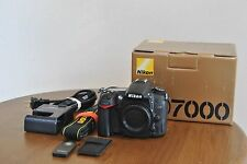 EX! Nikon D D7000 16.2MP Digital SLR Camera - Black (Body Only)