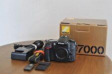 EX! Nikon D D7000 16.2MP Digital SLR Camera - Black (Body Only)