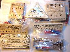 Peg Games: TicTacToe, Jump Peg, Galaxy, TakeAway, Mind Twister, Go To & Dragrace