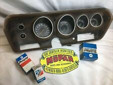 Mopar Rally Gauge Cluster 71 72 73 74 Dodge Charger Plymouth GTX Road Runner