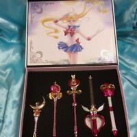 Sailor Moon Stick & Rod Moon Prism Edition Members Limited Premium Bandai New JP