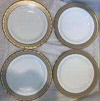 Mikasa Cambridge Y0501 Set Of 4 Dinner Plates Excellent
