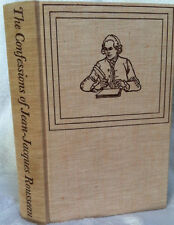 THE CONFESSIONS of Jean-Jacques Rousseau (Heritage Press) (In slip case)