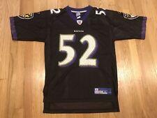 Baltimore Ravens Ray Lewis Reebok Jersey Mens Medium Black Alternate Vintage NFL