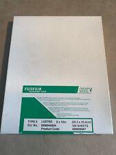 "Fujifilm Fujicolor Crystal Archive Type II Paper 8 x 10"" Lustre 100 Sheets New"