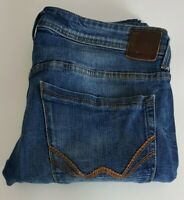 Mens Duck And Cover Rouren Slim Stretch Jeans 32R W32 L32 Blue 32x32 W32in L32in