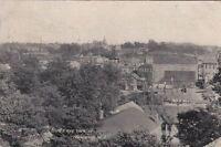 Postcard of Bird's Eye View Bridgeton NJ 1908