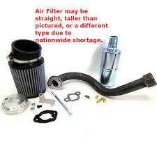 Stage 1 Air Filter Exhaust Pipe For Hemi Predator 212Cc Minibike Trike Barstool