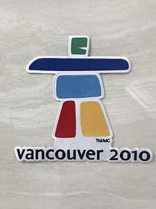 VANCOUVER 2010 WINTER OLYMPICS TEAM RARE Large Embroidered Patch