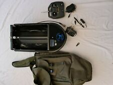 Angling Technics bait boat with torch unit and wall plug and bag **collection**