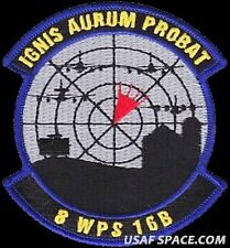 USAF 8th WEAPONS SQUADRON -CLASS 2016B- Nellis AFB, NV- ORIGINAL AIR FORCE PATCH