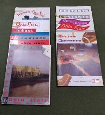 Lot 8 Ohio State NCAA College Football Official Programs Woody Hayes RARE 1950's