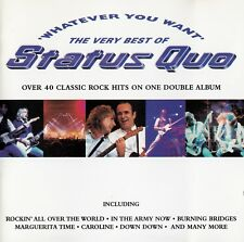 Status quo: whatever You Want-The Very Best of Status Quo/2 CD-Set