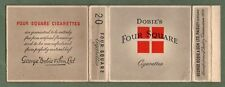 Old EMPTY cigarette packet Dobie Four-square size 20    #182