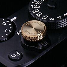 Gariz Soft Release Shutter Button Auslöser Auslöseknopf für Kamera | Gold Gelb