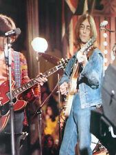 "VTG John Lennon Rolling Stones Rock n' Roll Circus Poster Print 38 x 27"" Italy"