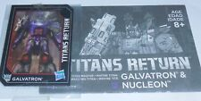 Transformers Titans Return GALVATRON NUCLEON Voyager BIO and MANUAL