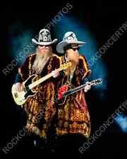 ZZ TOP - BILLY GIBBONS - DUSTY HILL - FRANK BEARD - Rock Concert Photo