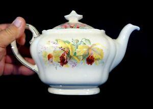 Beautiful Royal Doulton Orchid Teapot